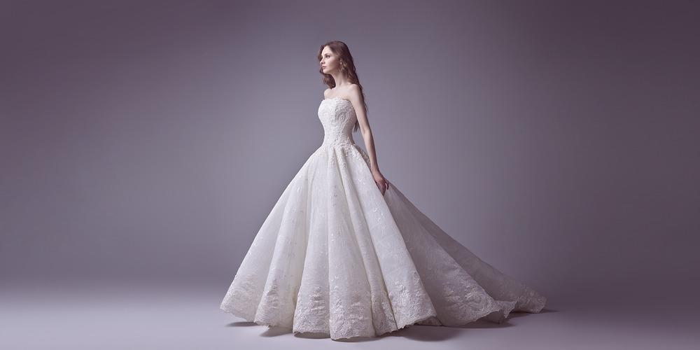 29d2169a8 فساتين زفاف سعيد قبيسي لعام 2017 في أسبوع نيويورك لأزياء الزفاف