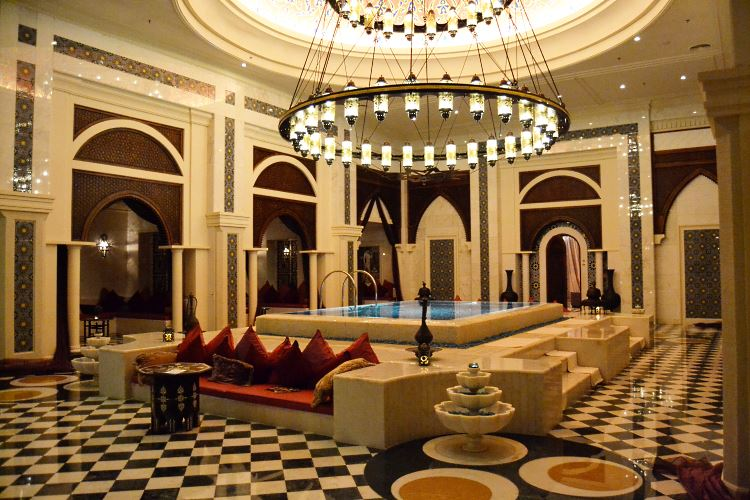 Bridal shower places in dubai arabia weddings for Unusual hotels in dubai