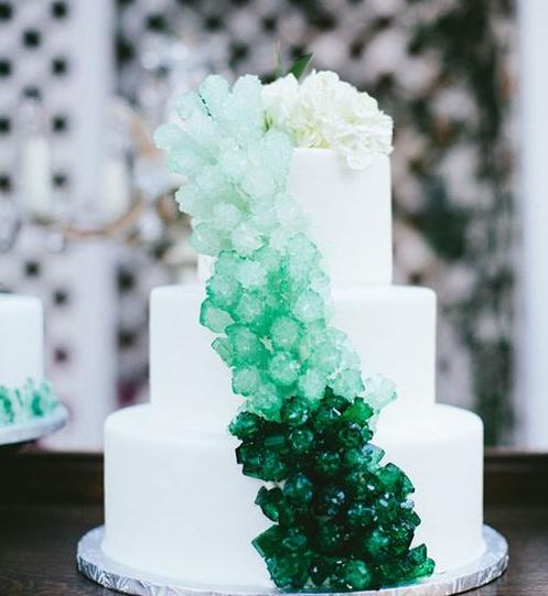 Beautiful Green Wedding Cakes For 2017 Arabia Weddings
