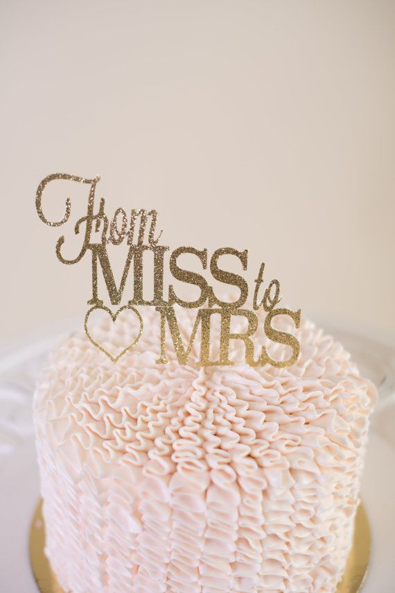 5 stunning bridal shower cakes