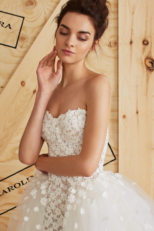 Algerian Wedding Dress 63 New The Feminine Carolina Herrera