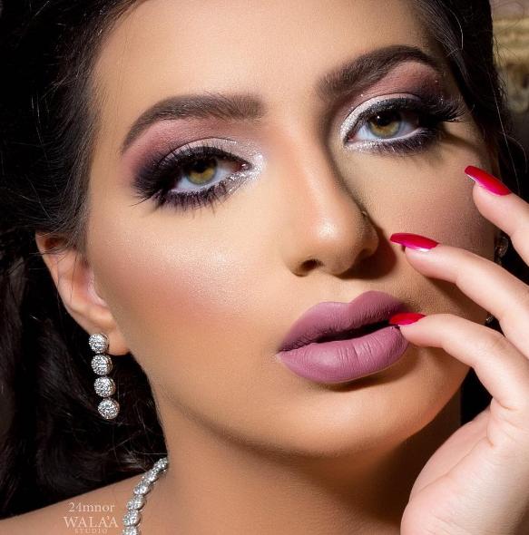 Saudi Makeup Artist Mounira Arabia