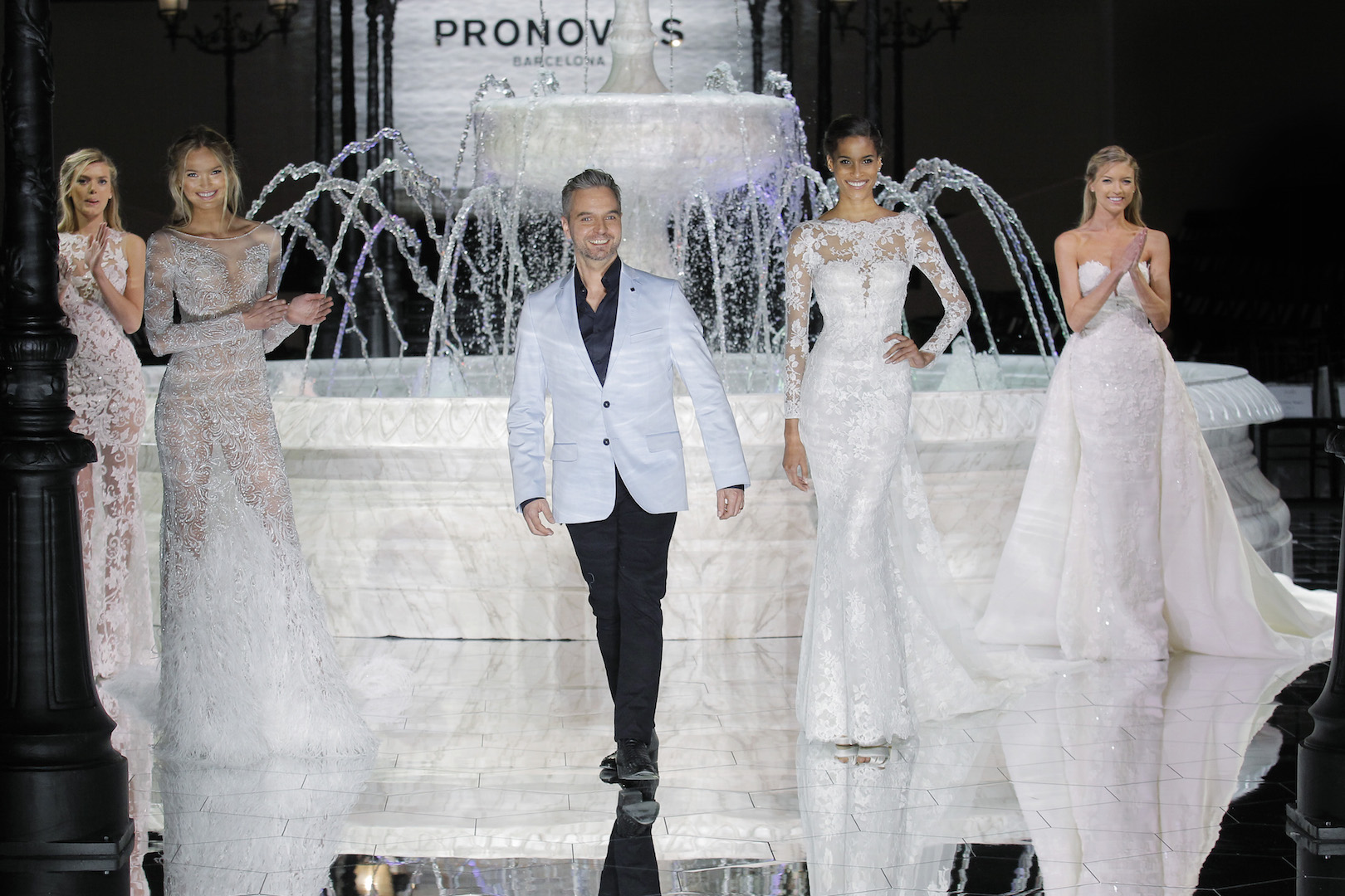 Pronovias Runway Show From Barcelona Bridal Week 2018: PRONOVIAS Presents It's Atelier 2018 Bridal Collection