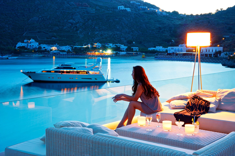 Best Island Beaches For Partying Mykonos St Barts: 12 Beachfront Hotels In Mykonos Island