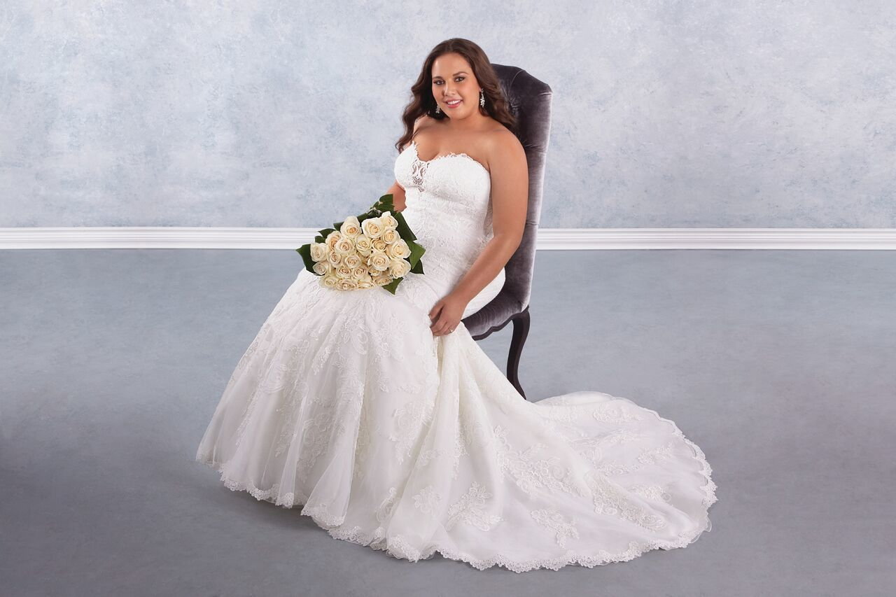 Maggie Sottero Plus Size Wedding Dresses