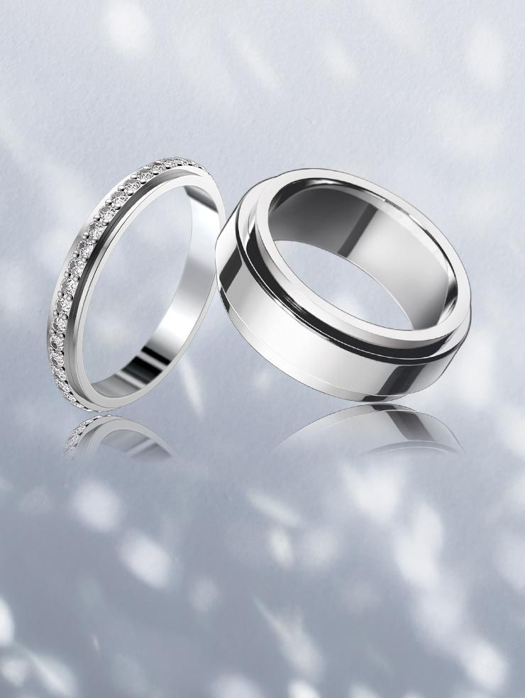 Piaget Platinum Wedding Rings Arabia Weddings