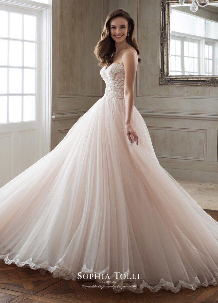 The Spring 2018 Sophia Tolli Wedding Dresses - Arabia Weddings
