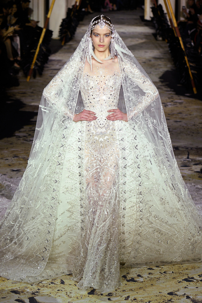 Wedding Dresses Second Day Paris Fashion Week Arabia