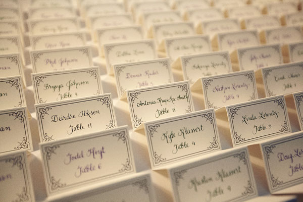 Place card holders ideas for your wedding arabia weddings for Make your own wedding place cards