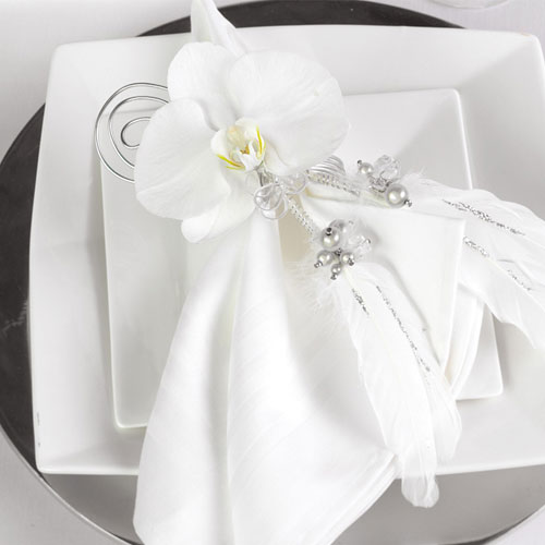 Napkin Folding Ideas For Weddings: Orchids The Perfect Flower For Your Wedding