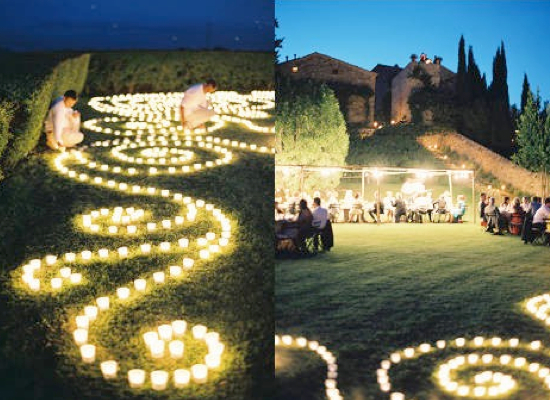 Your guide to the perfect wedding lights arabia weddings - Cheap outdoor lighting ideas ...