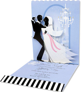 make your wedding invitations pop with 3d effect - arabia weddings, Wedding invitations