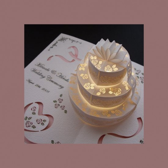 Make Your Wedding Invitations Pop With 3d Effect Arabia