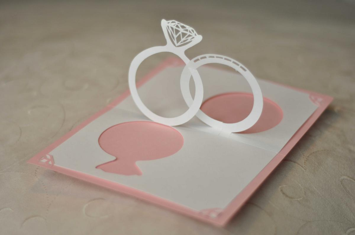 How To Make Wedding Pop Up Cards : Make Your Wedding Invitations Pop with 3D Effect - Arabia ...