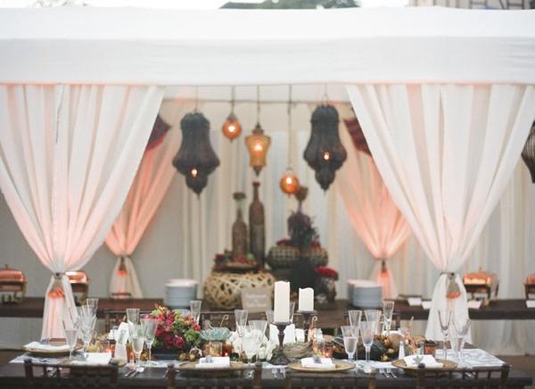 A magical Arabian Nights wedding theme for a unique wedding.