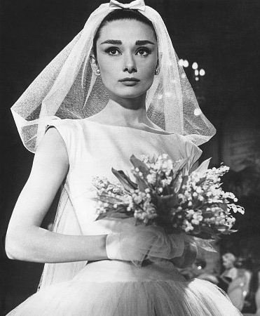 Bridal inspiration audrey hepburn arabia weddings for Funny face wedding dress