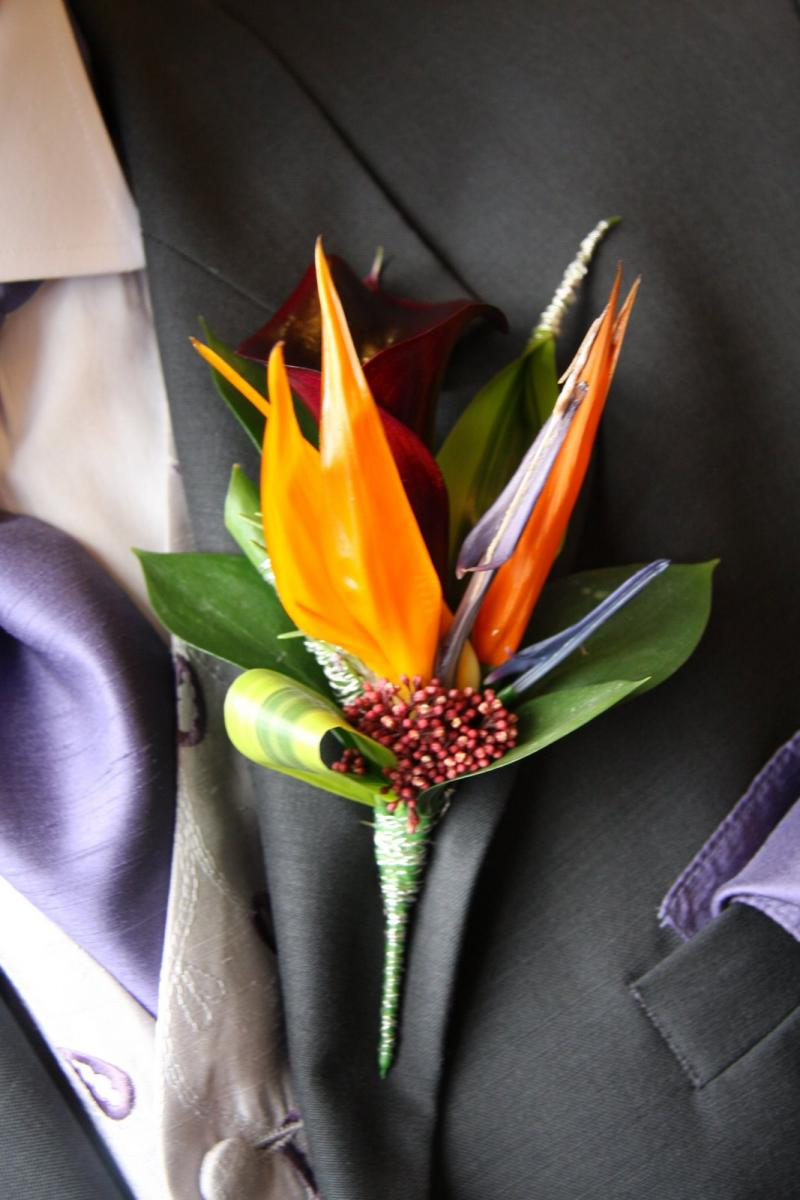 A Wedding Favorite: The Bird of Paradise Flower - Arabia Weddings