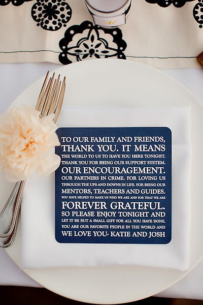 Wedding Thank You Ideas For Guests : Wedding Etiquette: Thank You Notes for Your GuestsArabia Weddings