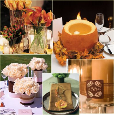 Falling in Love with Fall: Wedding Decorations that'll Sweep You