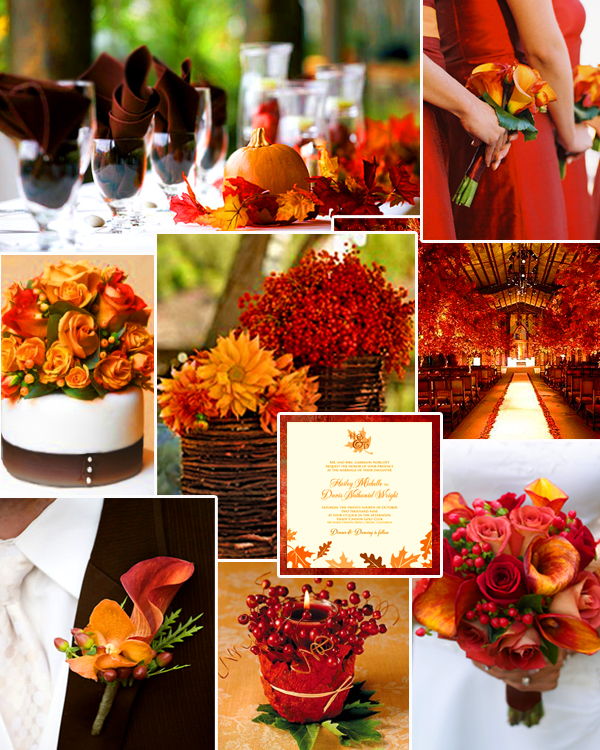 Wedding decorations for your fall arabia weddings