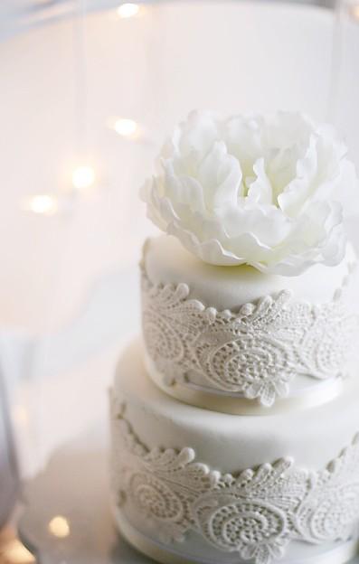 اختارى معنا تورتة الزفاف المناسبة لك عروس 2014