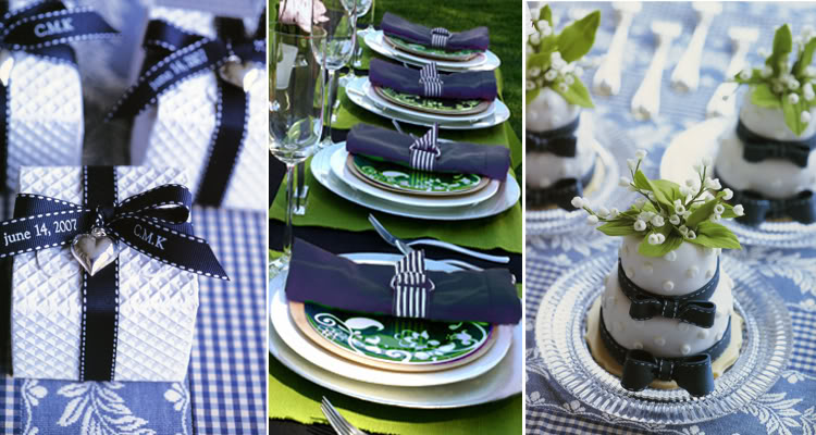 Navy Blue White And Silver Wedding Decorations : Your wedding in colors navy blue and silver arabia weddings