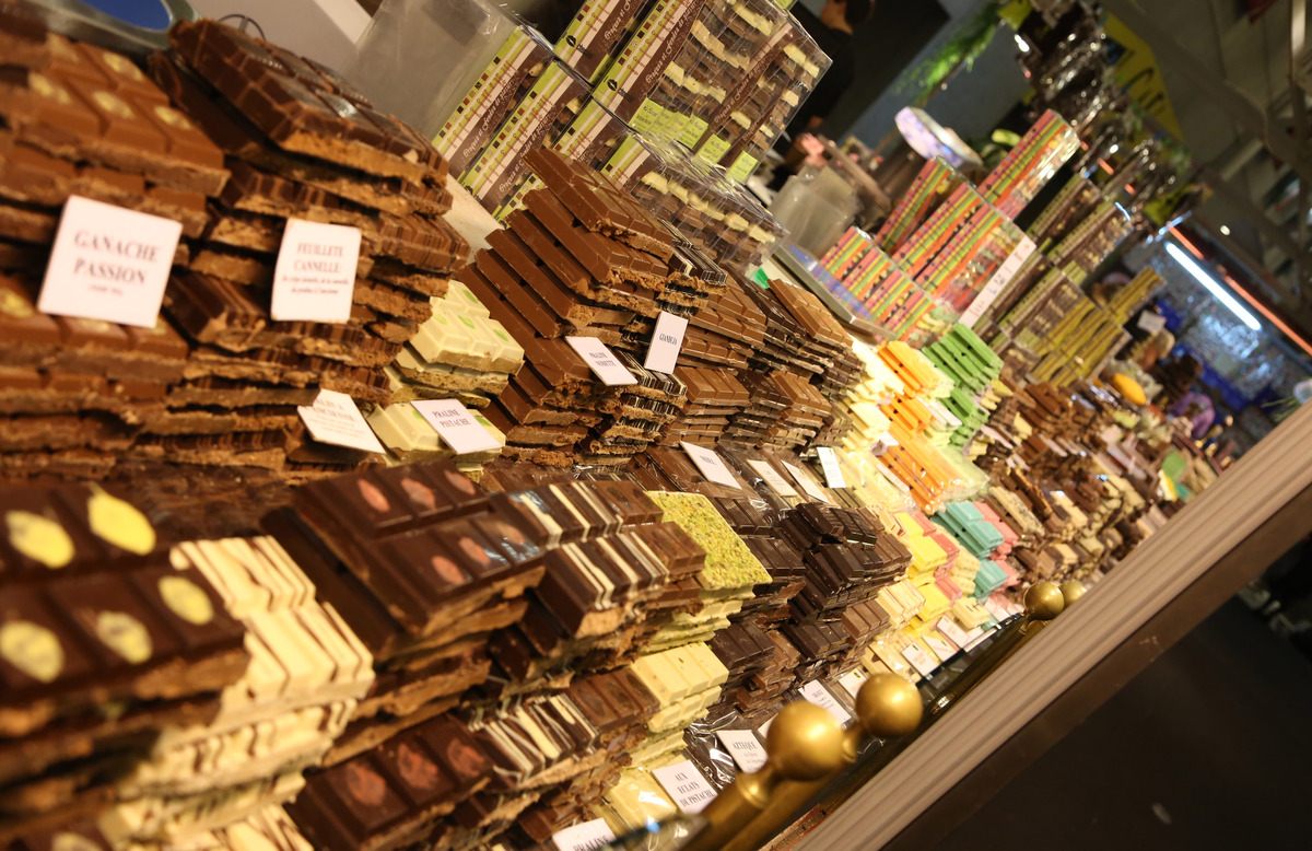 The 18th Edition Of The Salon Du Chocolat 2012 Took Place