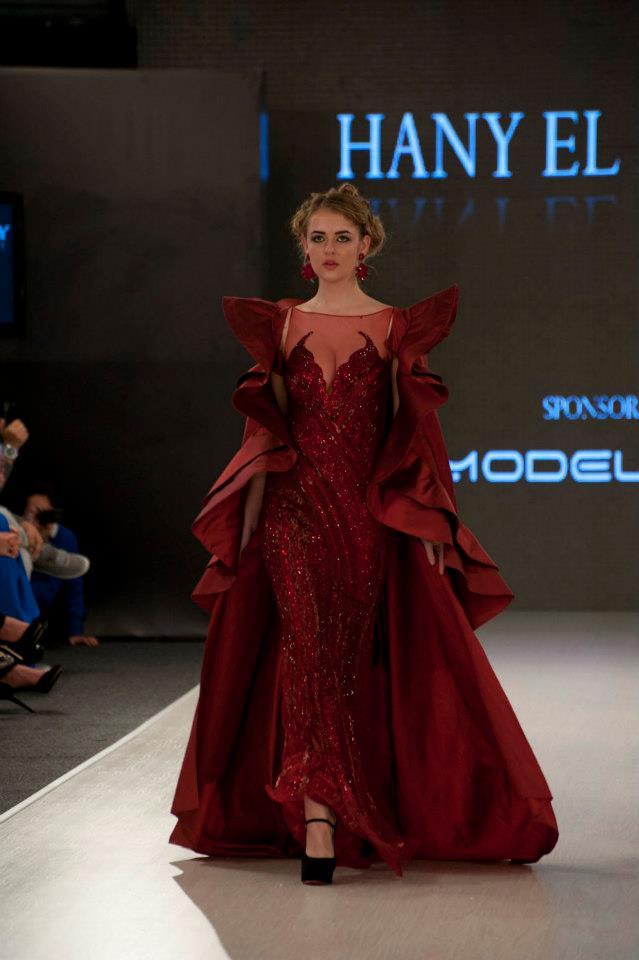 Glamorous Collection At Amman Fashion Week Arabia Weddings