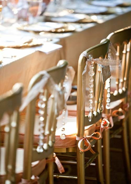Decorate Your Wedding Chairs - Wedding Decor - Tips