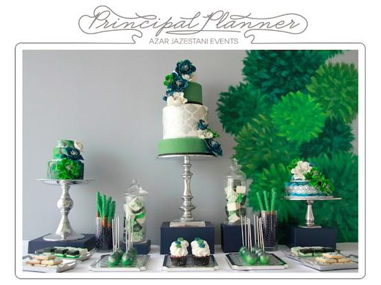The Color Of 2013 Emerald Green Arabia Weddings