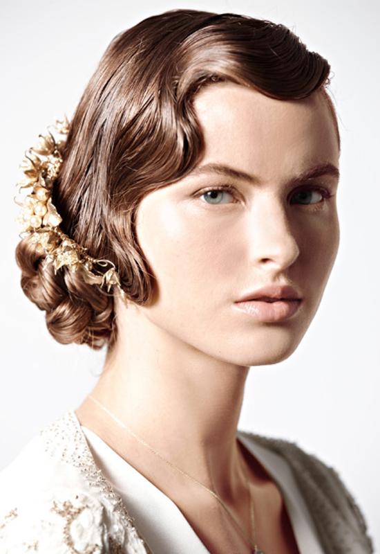 The Prettiest Wedding Hair Trends for 2013 - Arabia Weddings