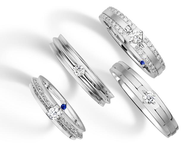 Magnetised Wedding Rings from Goldheart Arabia Weddings