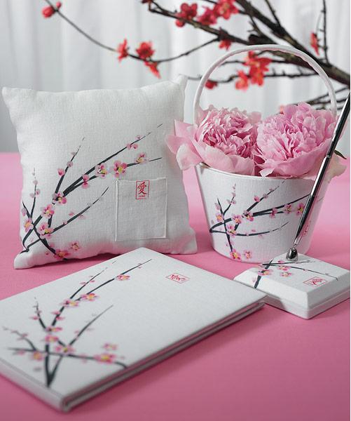 Wedding Decoration Japan: Cherry Blossom Wedding Theme!