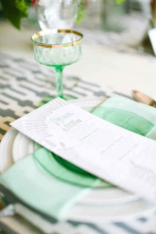 Your Wedding In Colors A Mint Green Wedding Arabia Weddings