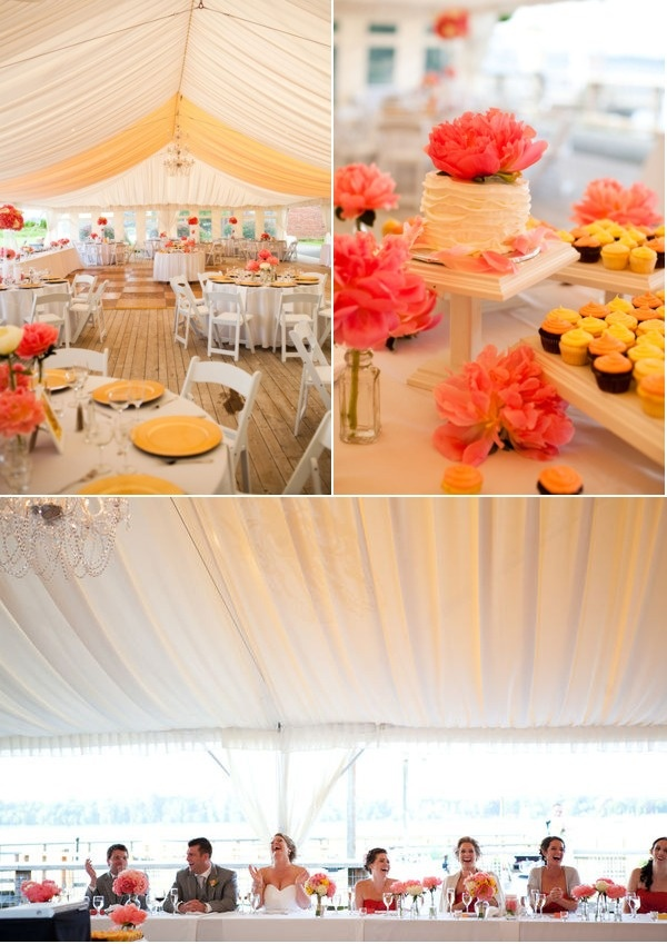 Your Wedding In Colors Mustard Yellow And Coral Arabia
