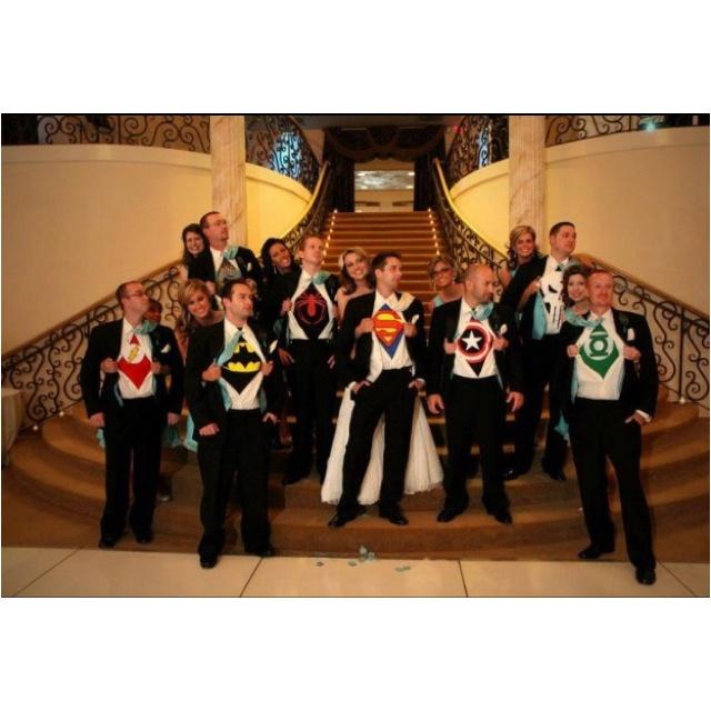 your superhero wedding