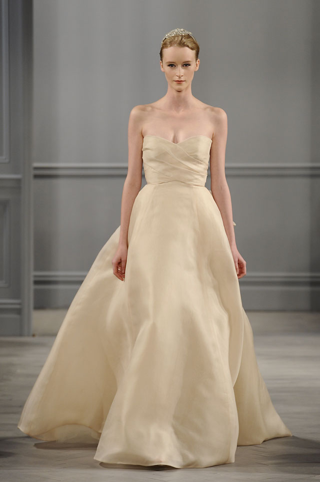 reem acras collection is all about tulle tags fashion monique lhuillier 2014 nontraditional wedding dresses