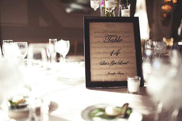 watch more like wedding table number ideas