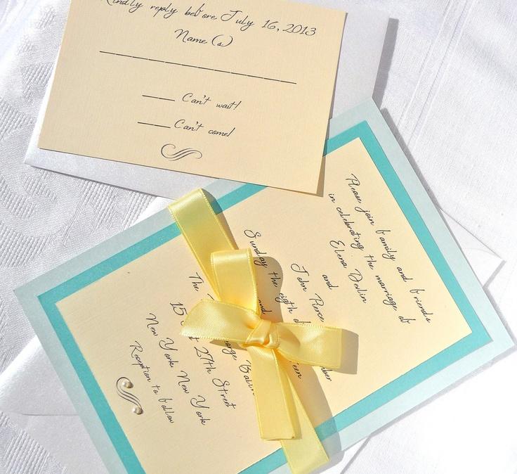 Your Wedding in Colors: Aqua and Yellow - Arabia Weddings