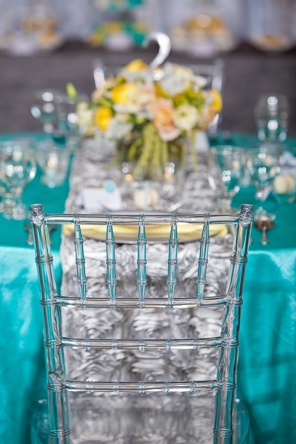 Your Wedding in Colors: Aqua and Yellow - Arabia Weddings