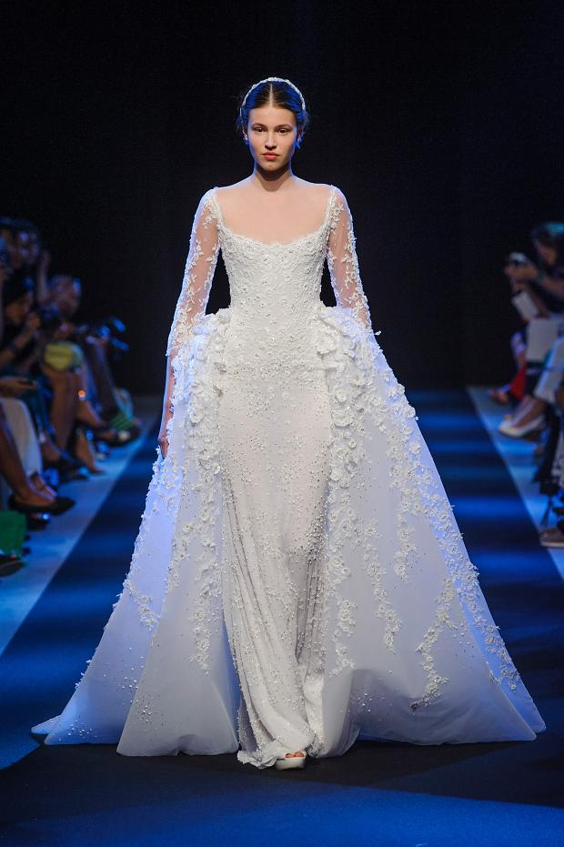 Bridal Gowns At The Paris Haute Couture Fashion Week Fall