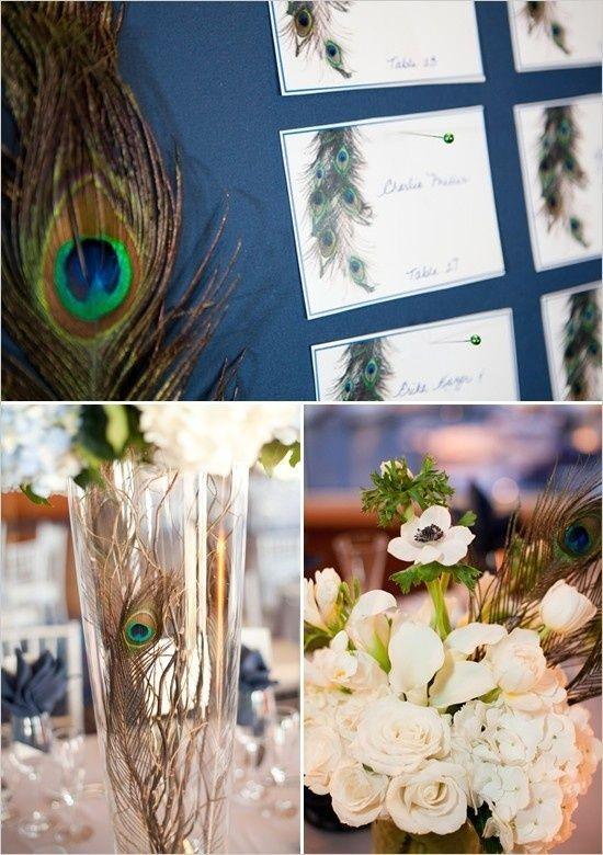 A royal peacock wedding arabia weddings - Peacock arrangements weddings ...