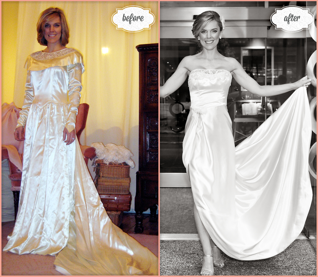 tips fashion reuse your moms wedding dress