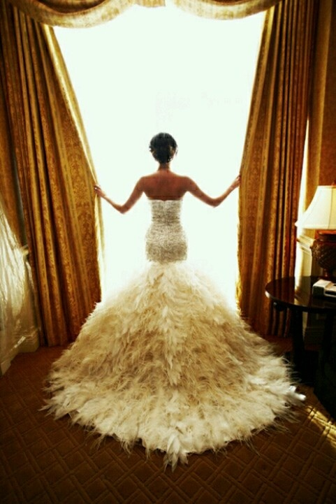 The Wedding Dress With A Dramatic Back