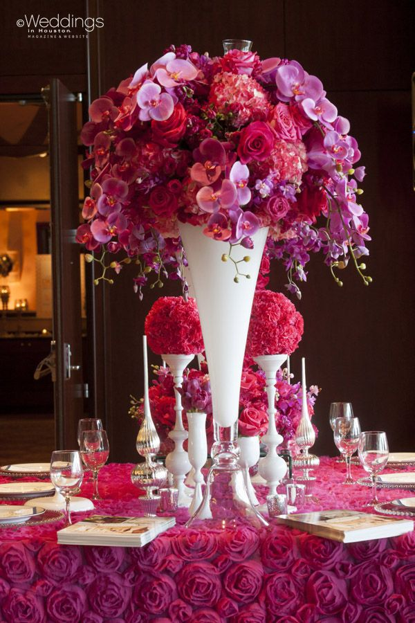 Your Wedding in Colors: Pink and Red - Arabia Weddings