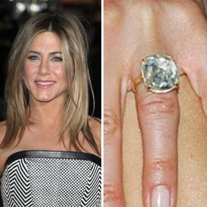 Engagement and Wedding Rings Worn by Celebrities