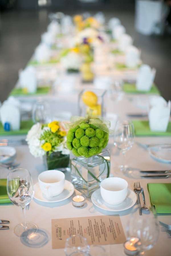 Your Wedding In Colors Lime Green And Yellow Arabia Weddings