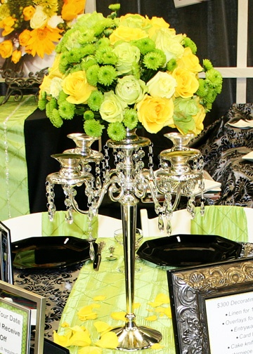 Your Wedding In Colors Lime Green And Yellow Arabia