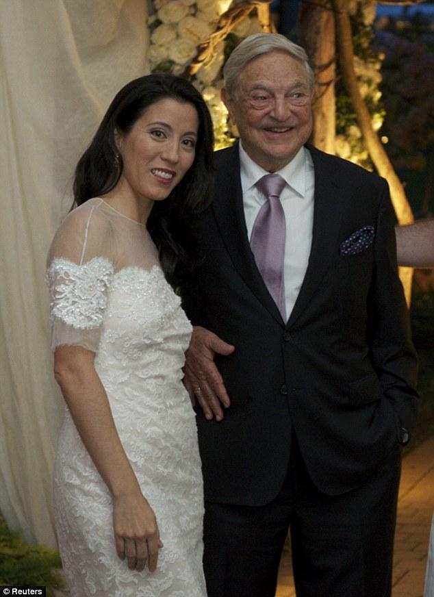 Billionaire George Soros Celebrates 3rd Marriage - Arabia Weddings