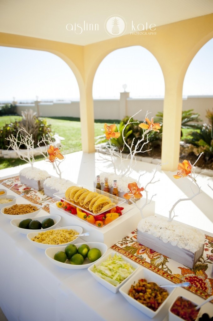 Wedding Catering Trend DIY Food Stations
